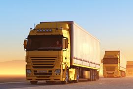 Nationale und internationale Transporte